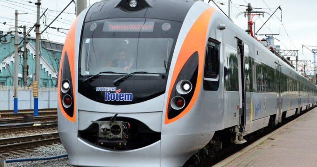 Скоростной поезд из Украины в Польшу