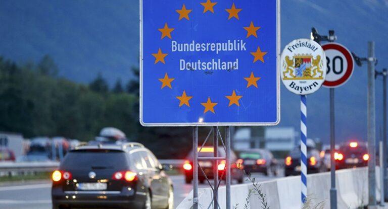 въезд в германию